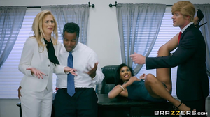 Porn spoof video featuring Trump, Hilary, and Obama