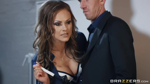 Dominant alpha female fucked by a huge cock