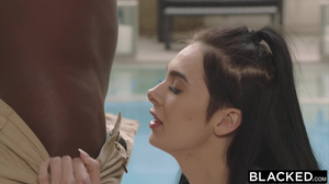 Sexy tattooed whore is fucked by a big black cock in HD