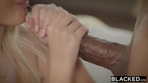 Sexy blonde babe is getting a stiff BBC in 1080p
