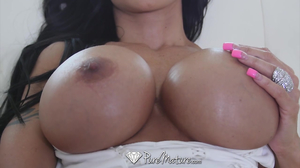 Tattooed brunette latina gets obliterated by 19yo dude